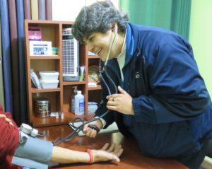 Sandra Flores, médica de Sí, da Vida