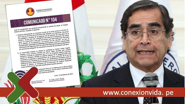 Ministro de Salud, Oscar Ugarte - Conexión Vida