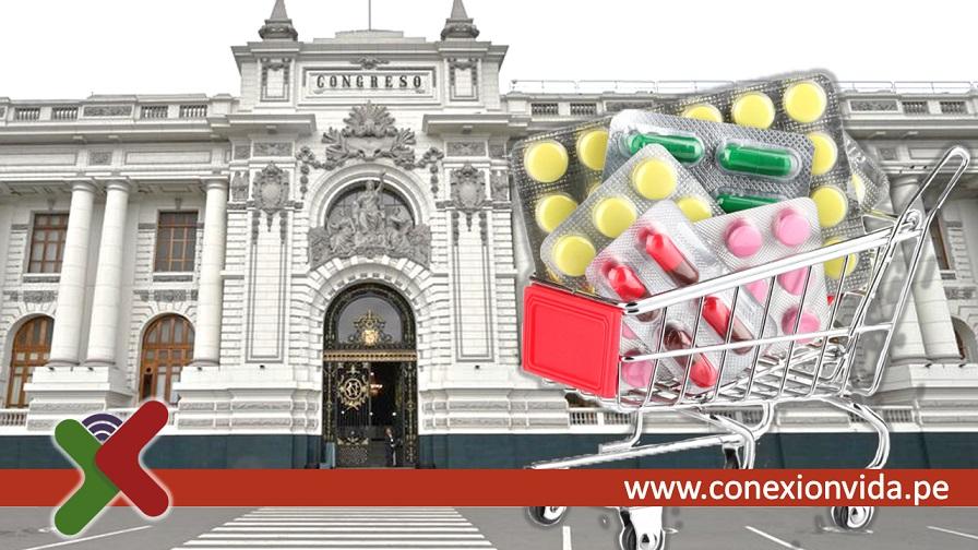 Ley de venta de medicamentos Congreso - Conexión Vida