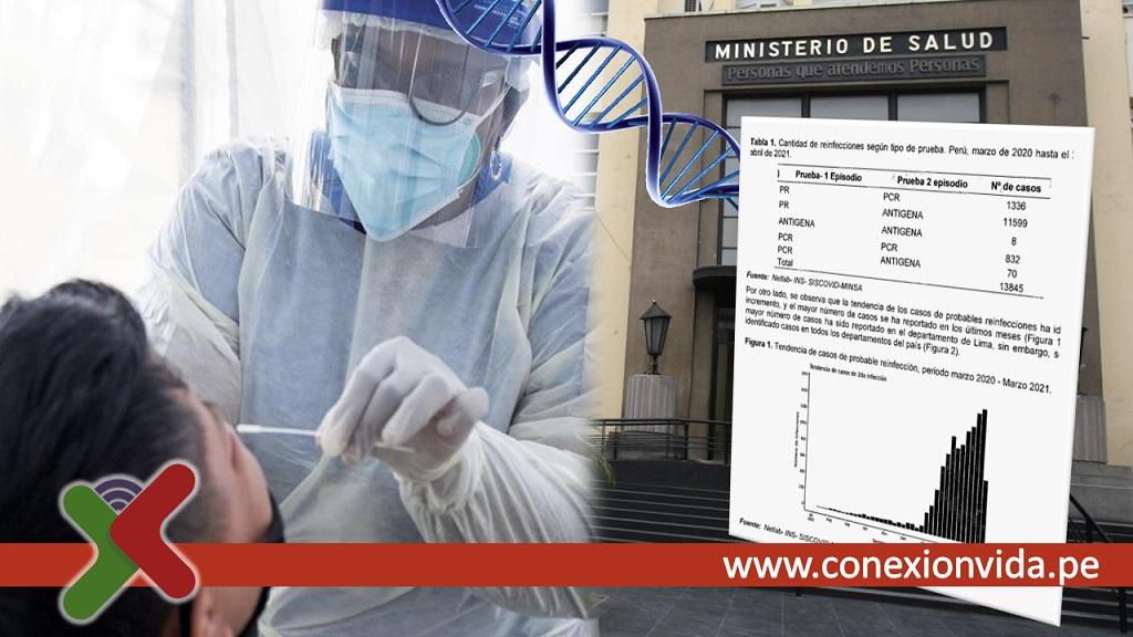 Preocupación por incremento en casos de reinfección de coronavirus en el Perú - Conexión Vida