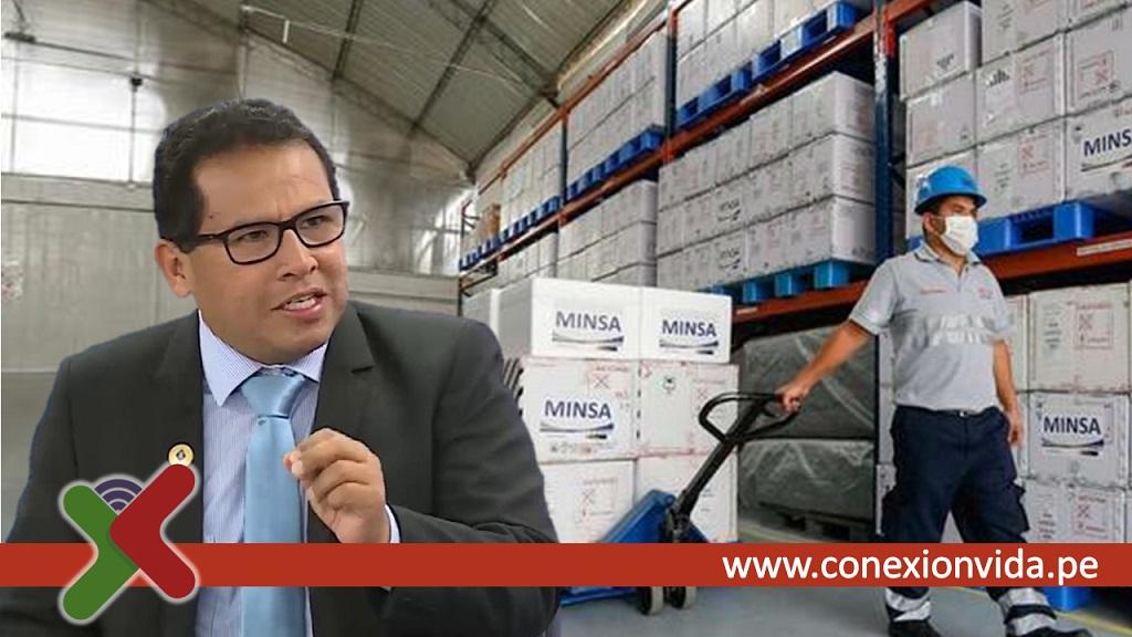 Vacunas almacenadas en gobiernos regionales - Javier Llamoza - Conexión Vida