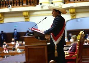Juramentación del presidente Pedro Castillo