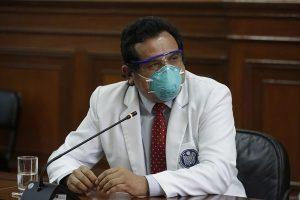 Godofredo Talavera, presidente de la Federación Médica Peruana