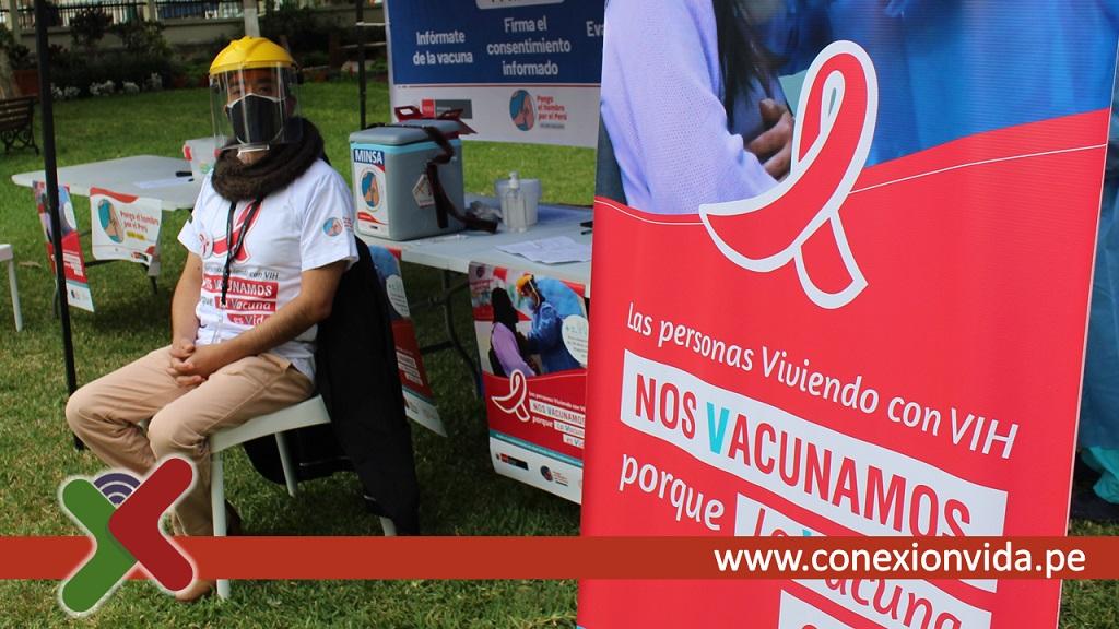 Vacunacion a personas con VIH - Conexión Vida