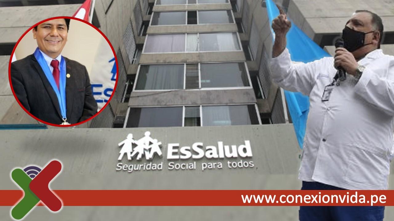 Teodoro Quiñones, secretario general del Sindicato Nacional Médico del Seguro Social del Perú (Sinamssop) - Conexión Vida
