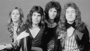 Queen en sus primeros años. La gran explosión de la banda llegaría con el álbum Una Noche en la Ópera (Photo by Michael Putland/Getty Images)